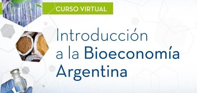 """Curso virtual """"Introducción a la Bioeconomía Argentina"""""""