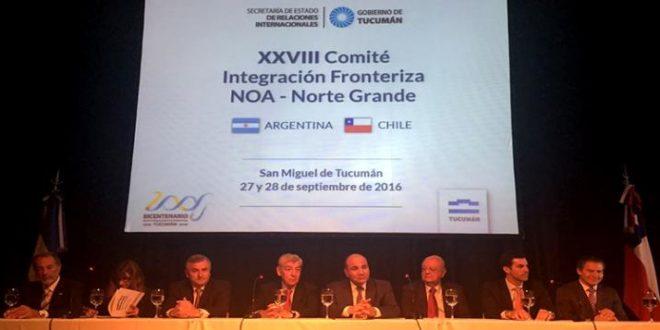 Buscan profundizar el intercambio comercial entre las provincias y las regiones del norte argentino y chileno
