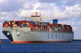 La principal naviera china comenzará a operar desde Puerto Rosario.