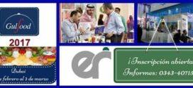 Dubai 2017 Gulfood Inscripciones Abiertas