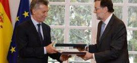 """Macri: """"Esperamos que las empresas españolas profundicen sus inversiones en esta nueva etapa"""""""